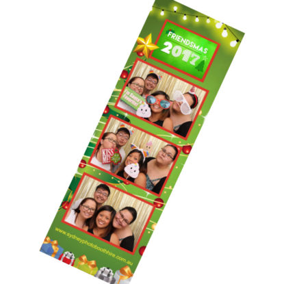 Photo Booth Strip from Christmas Party